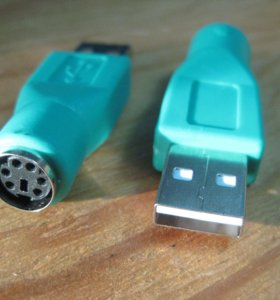 Новый переходник PS\2 to USB для клавиатуры и мыши