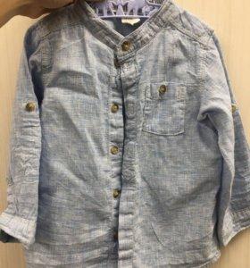 Рубашка мальчику 86