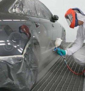 Кузовной ремонт автомобилей (полировка, покраска)