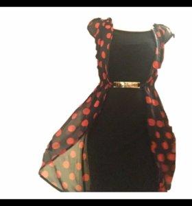 Красивое платье( 2x)удобное с лодочками будет шик