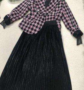 Пиджак юбка