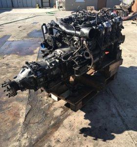 Двигатель 8-ми цилиндровый MAN