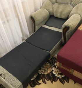 Диван и раскладное кресло