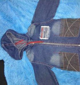 Ветровка джинсовая