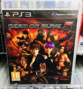 Dead or alive 5 на PS3