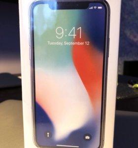 iPhone X 256Gb Silver A1901 Новый