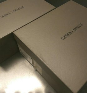 Коробки для обуви б/у GIORGIO ARMANI