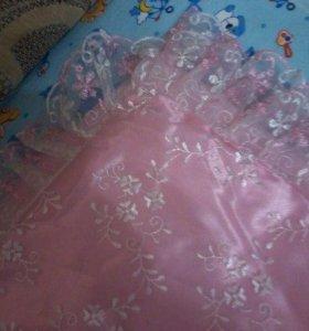 одеялко на выписку из роддома для принцессы