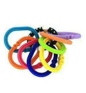 Детские колечки для игрушек