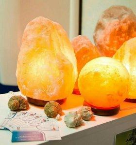 Соляные лампы в наличии от 1-2 кг, до 7-10 кг