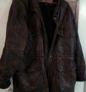 Натуральная кожаная куртка. Торг.