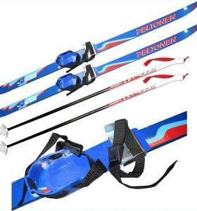 ✓Новые. Лыжи в школу