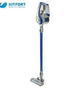 Вертикальный беспроводной пылесос kitfort