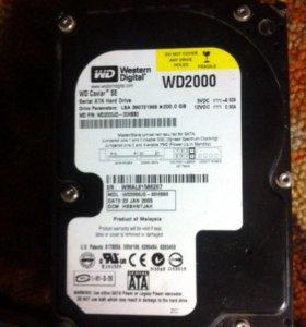 """Жесткий диск 200 GB 3.5"""" SATA-I"""