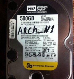 """Жесткий диск 500 gb 3.5"""" SATA-II"""