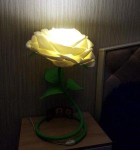 Роза светильник.