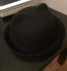 Стильная шляпка с ушками