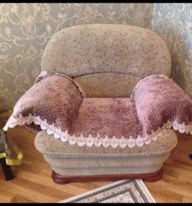 Холл -диван и кресло