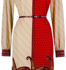 Яркое платье 👗 ZARINA мини осень - зима