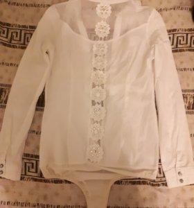 Рубашка боди женская