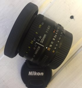 Nikon 50mm 1/8d