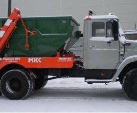 Вывоз мусора и снега. Контейнер 8 и.куб.