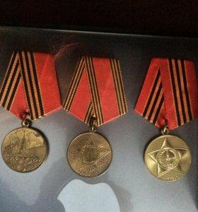 Юбилейные медали Победы