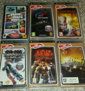Продам или поменяю игры PSP