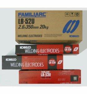 Электроды сварочные, lb52u 2.6, 3.2