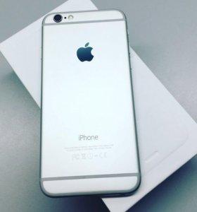 iPhone 6 64 Gb Silver идеальное состояние