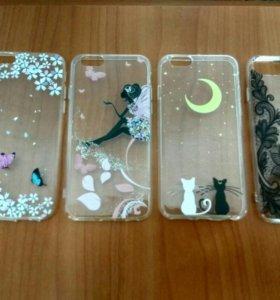 Чехлы для Iphone 6, 6s.