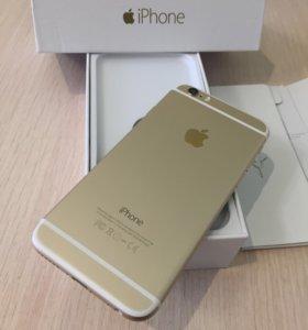 iPhone 6 16gb gold идеальный