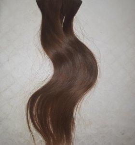Волосы для ленточного наращивания