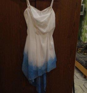 Танцевальное платье для фигурного катания