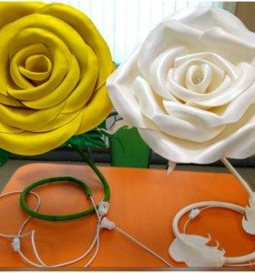 Настольная роза-торшер