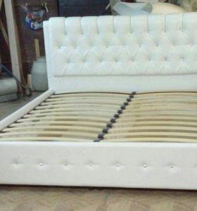 Кровать каретная стяжка