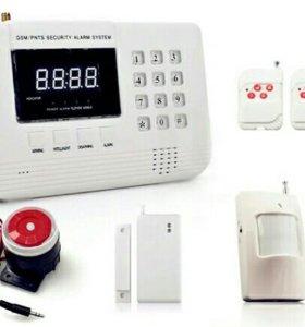 GSM сигнализации беспроводные!