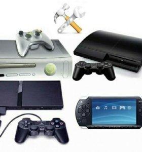 Ремонт xbox360/xboxone/playstation/PS3/PS4