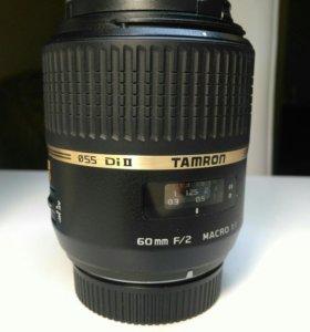 Объектив Tamron SP AF 60 mm F/2 Di macro 1:1 Nikon