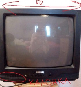 Хорошенький ЭЛТ-телевизор Samsung CK-5035ZR