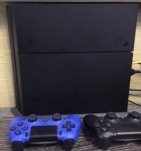 Sony PS4 1Tb аккаунт с играми 2 джойстика