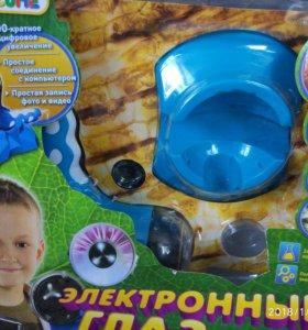 """Детский микроскоп """"Электронный глаз"""""""