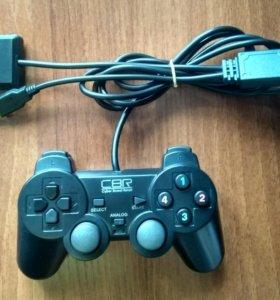 Проводной геймпад для ПК, PS3, PS2