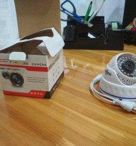 Купольная AHD-камера (960P/1.3mp)
