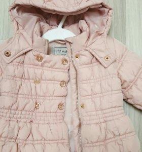 Курточка next для девочки 1-2 года