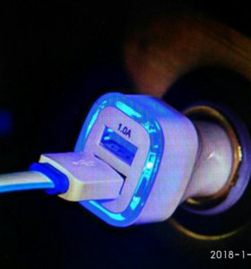 Автомобильные USB зарядное устройство.