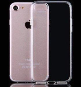 Чехол iPhone 7/8 силиконовый 0,6мм