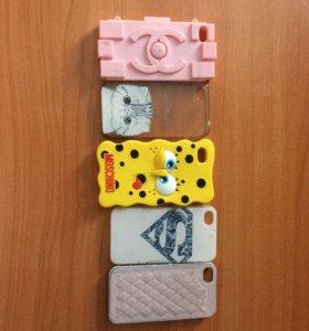 Чехлы для IPhone 4s/4