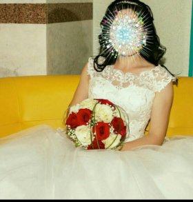 Шикарное свадебное платье 👗