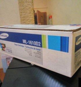 Новый картридж Samsung ML1610D